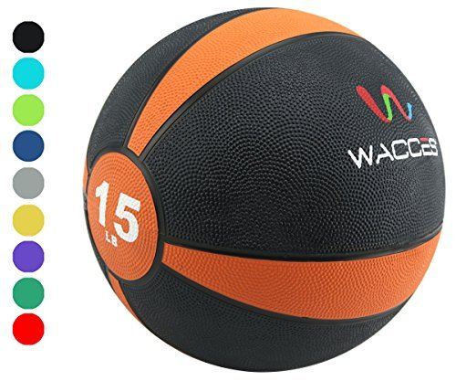 Wacces Medicine Ball, 15 lb