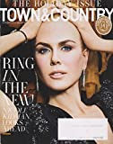 Town & Country Magazine (December, 2016/January, 2017) Nicole Kidman Cover