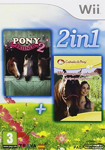 Pack: Mi Granja De Caballos: Amigos Para Siempre + Pony Friends 2