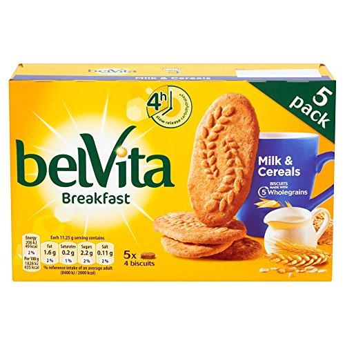 Belvita Frühstück Kekse Cerealien & Milch (5x45g) 225g MHD:8/20
