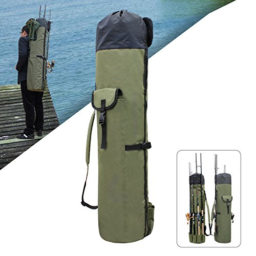 Shaddock Fishing Angelrute Reel Fall Tasche Organizer weichem Angel Fall Carrier Halter Pole Tools Angeln tacklestorage Staubbeutel