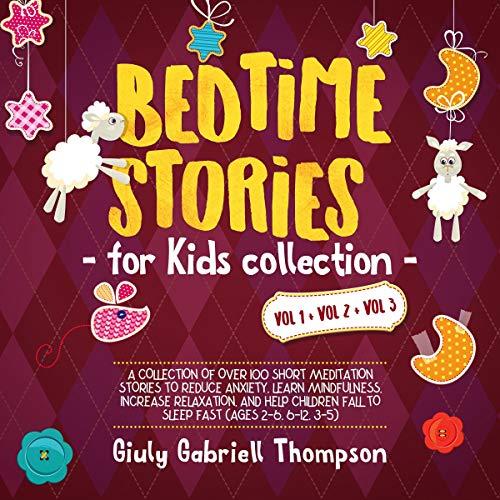 Bedtime Stories for Kids Vol 1 + Vol 2 + Vol 3 cover art