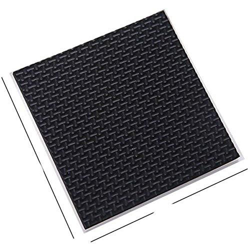 HJKHJK 1-24PCS Thickening Self Adhesive Furniture Leg Feet Rug Felt Pads Anti Slip Mat Bumper Damper For Chair Table Protector Hardware-1PC Square