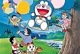 Rompecabezas Puzzle Doraemon 300/500/1000 Campanilla rompecabezas de madera de alta superduro descompresión for adultos dificultad animado Rompecabezas Aliviar el estrés ( Color : F , Size : 300pcs )
