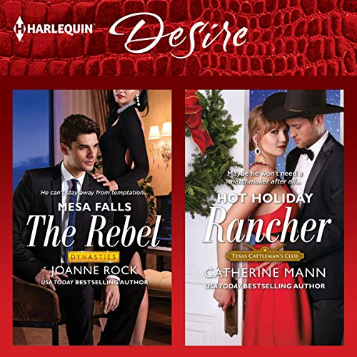 The Rebel & Hot Holiday Rancher audiobook cover art