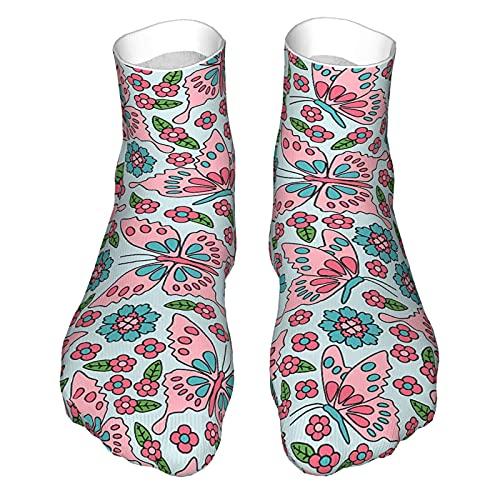 Calcetines para hombre y mujer, transpirables, cómodos, casuales, para exteriores, para senderismo, senderismo, senderismo, caminata