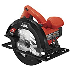 13 Amp motor for more power and performance than the SKIL 5380 15% weight reduction vs. SKIL 5380, reduces user fatigue 51-Degree bevel with positive stops for great cut capacity Spindle lock for easy blade changes Improved dust blower keeps line of ...