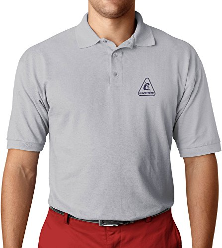 Cressi Polo Homme, Gris, FR