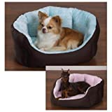 Slumber Pet Cotton/Nylon Plush Nesting Dog Bed, Pink