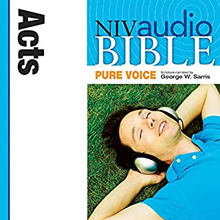 NIV Audio Bible, Pure Voice: Acts cover art
