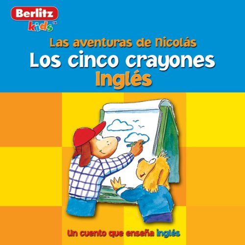 Los Cinco Crayones audiobook cover art