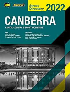 Canberra Capital Country & Snowy Mountains Street Directory 2022 26th ed