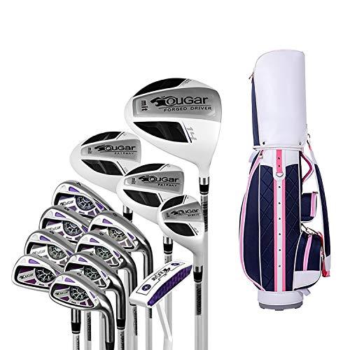 Damen Golfschläger-Set mit Tasche(13pcs) Golf Chipper Club Sport Equipment Golfschlägersätze Ausrüstung,Set(2)