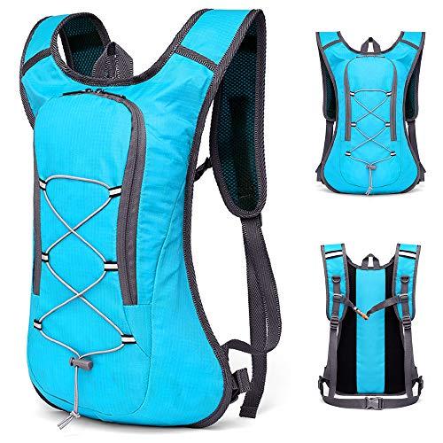 Mochila, Romacci Mochila para bicicleta ultraleve respirável para esportes ao ar livre, ciclismo, acampamento, caminhada, corrida, bolsa, hidratação, bolsa