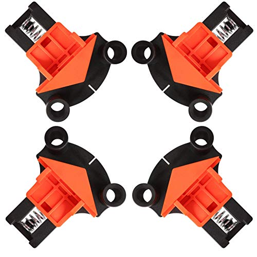 Clamps for Woodwork 4PCS 60/90/120 Degree Corner Clamp Hand Tools Set 2021 New Upgraded Clamps, Wood Clamps Corner Clamp for Photo Frame DIY Mult Tool Set Woodworking Tools for Photo Frames, Kaso