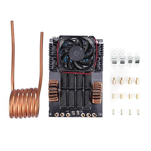DC12-40V 1000W 50A ZVS placa de calentamiento por inducción de alta frecuencia de la bobina del módulo de la máquina con tubo de cobre