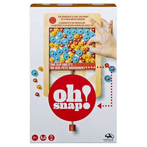 Marbles Oh Snap! – Family Board Game, Multicolor (6044864)