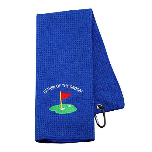 NOBRANDS Toalla de golf inspirada en el padre del novio para el...