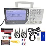Hantek DSO4102C 2 Channel 100MHz Digital Oscilloscope with 1 Channel Arbitrary/Function Waveform...