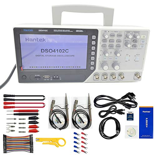 Hantek DSO4102C 2 Channel 100MHz Digital Oscilloscope with 1 Channel...
