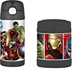 Avengers Age of Ultron Funtainer Thermos Bottle & Food Jar