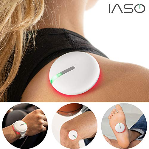 Best Price [IASO] Red Light Therapy Device and Massager: FDA-Registered, Pain Relief for Back, Neck,...