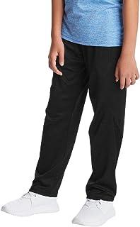 C9 Champion Boys' Open Leg Athletic Pants, Ebony, XL