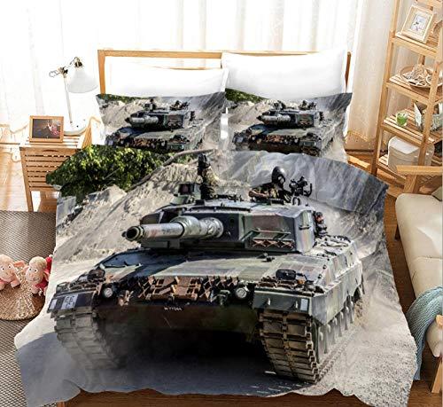 GSYHZL Kingsize-Bettbezug,3D-gedrucktes Kingsize-Bettwäscheset, Einzelbett-Bettbezug...