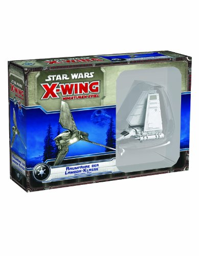 Asmodee HEI0410 - Star Wars X-Wing: Raumfähre der Lambda-Klasse - Erweiterung-Pack
