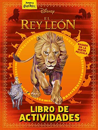 El Rey León. Libro de actividades (Disney. El Rey León)