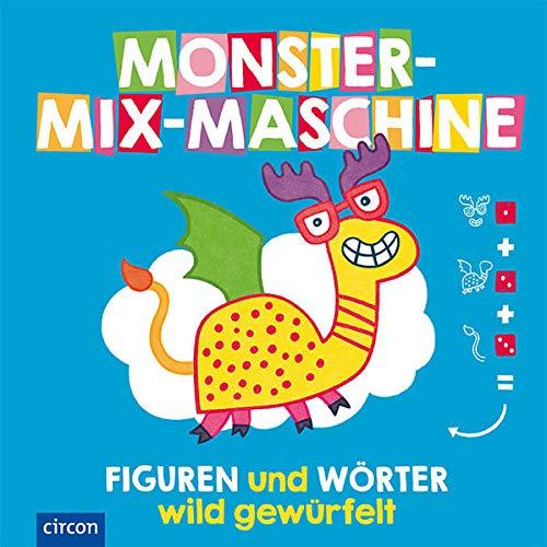 Monster-Mix-Maschine: Figuren und Wörter - wild gewürfelt