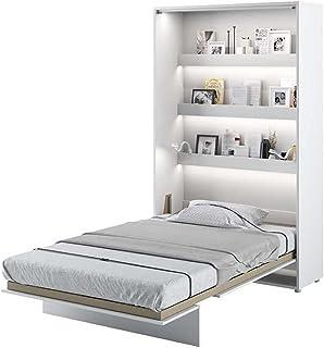 Lit escamotable Bed Concept Vertical 120 x 200 Blanc Laqué