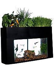 AquaSprouts Garden, Self-Sustaining Desktop Aquarium Aquaponics Ecosystem, Fits Standard 10 Gallon Aquariums