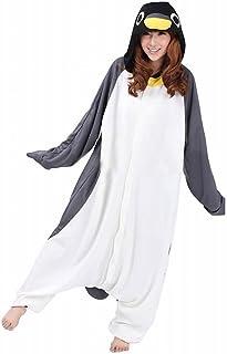 Unisex Animal Costume Niño Niña Adulto Animal Cosplay Traje Pingüino Gris Pijamas Adulto Niño Niña