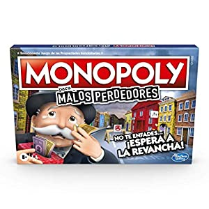 Juego De Mesa Monopoly Malos Perdedores, A Partir De 8 Años, El Juego En El Que Conviene Perder (Hasbro E9972190)
