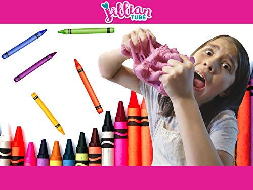 DIY Modeling Dough With Crayons!