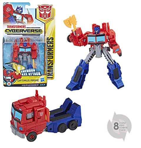 Transformers Cyberverse Action Attackers Warrior Optimus Prime, Actionfigur