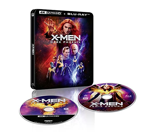 X-Men Fénix Oscura - Steelbook lenticular (4K UHD + Blu-Ray) [Blu-ray]