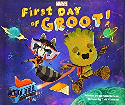 First Day of Groot book