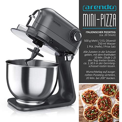 Arendo Kitchen Machine Cool Grey - 7