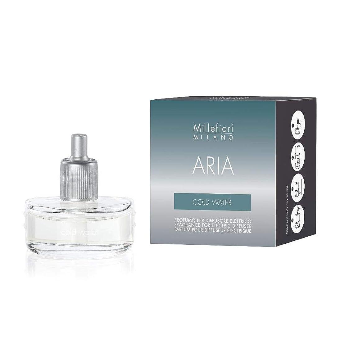 十二乱気流慢Millefiori ミッレフィオーリ フレグランスディフューザー専用リフィル [ARIA] プラグイン コールドウォーター ARIA-R-01