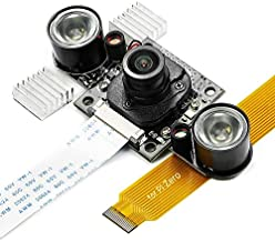Arducam Day-Night Vision for Raspberry Pi Camera, Wide Angle Automatic IR-Cut Switching All-Day Image, IR LED for Low Light and Night Vision, OV5647 5MP 1080P