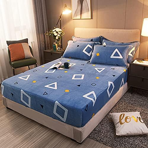 HAIBA Colcha de invierno para mantener el calor de terciopelo de cristal de algodón acolchado para cama o dormitorio, decoración suave, cómoda y gruesa, OTR-14, 120 x 200 cm