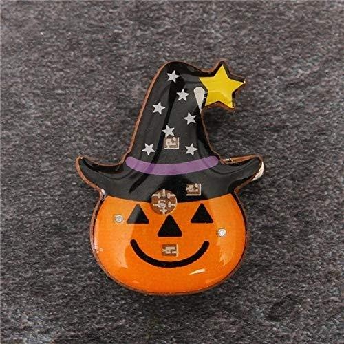 Gather together A 30#Halloween Decoration Atmosphere Night Lamp Festival Decoration Ornament Pendant Halloween Pumpkin Ghost Led Light Ornament