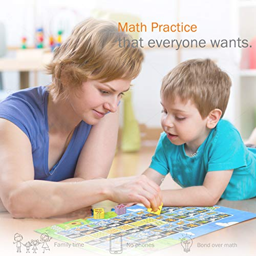 Logic Roots Feed My Pet Early Math Board Game - Fun Toy for 3 - 5 Year Olds, Number Recognition, Sequencing