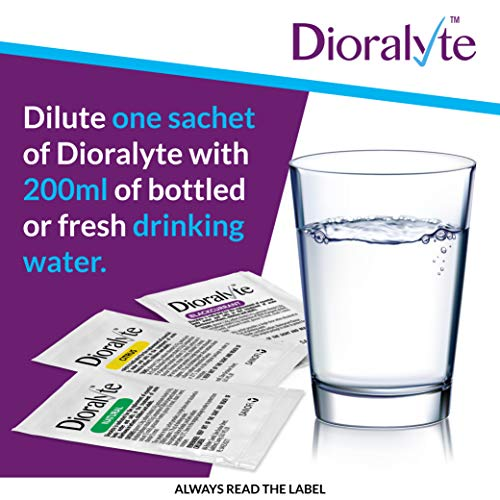 Dioralyte Supplement Replacement of Lost Body Water & Salts Sachets - Citrus Flavour - 6 Sachets