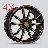 Drag DR-76 Wheels 20X9 5x114.3 Rally Bronze Rims