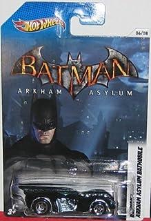 Hot Wheels Arkham Asylum Batmobile Batman/Batmobi le Commemorative Limited Edition 1:64 Scale Collectible Die Cast Car by