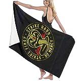 ETGBFHRDH Cobra Kai - Juego de toallas de baño de calidad extra grande para playa,...