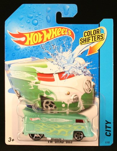 Hot Wheels VW Drag Bus Color SHIFTERS 2014 City Series 1:64 Scale Vehicle #6/48